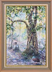 Sale 8408 - Lot 577 - Hugh Schulz (1921 - 2005) - Majestic Tree 49.5 x 33cm