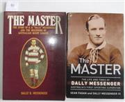 Sale 8418S - Lot 46 - BOOKS ON MESSENGER. (2 books).The Master Story of H. H. Dally Messenger by Dally R. Messenger and Sean Fagan's The Master.
