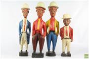 Sale 8608 - Lot 3 - Vintage Baule Colon Figures, Ivory Coast (4)