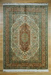 Sale 8665C - Lot 14 - Kashmiri Silk 230cm x 154cm