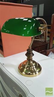 Sale 8390 - Lot 1557 - Bankers Lamp