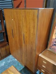 Sale 8765 - Lot 1096 - G-Plan Teak Wardrobe