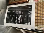 Sale 8906 - Lot 2091 - Noel Elliot - Men Take Risks silver gelatine photograph, 51 x 69 cm (mounted, unframed), signed