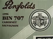 Sale 8340A - Lot 677 - 6x 1996 Penfolds Bin 707 Cabernet Sauvignon, South Australia - original box