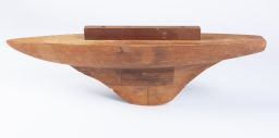 Sale 8575J - Lot 64 - Timber pond yacht, width 66cm