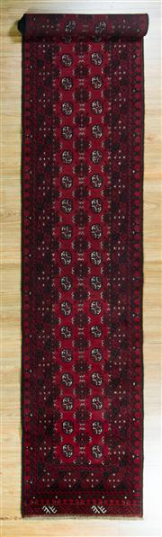 Sale 8657C - Lot 16 - Afghan Turkman Runner 570cm x 80cm