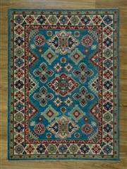Sale 8665C - Lot 16 - Afghan kazak 215cm x 157cm