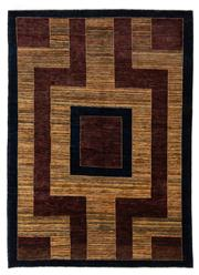 Sale 8715C - Lot 111 - An Afghan Rug Woven From Hand Spun Wool And Natural Dyes, The Design Belongs To The Kashqai Gabbeh Tribal Of Iran.  , 236 x 169cm