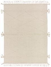 Sale 8725C - Lot 91 - An Indian Mradu Hand-knotted Wool Carpet, Neutral, 160x230cm, RRP $800