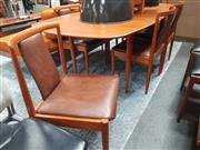 Sale 8839 - Lot 1028 - Parker Extension Dining Setting incl. Table and Six Chairs