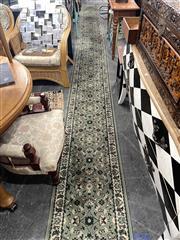 Sale 8896 - Lot 1079 - Machine Made Hall Runner (750 x 57cm)