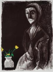 Sale 9001 - Lot 519 - Robert Dickerson (1924 - 2015) - Tulips 76 x 56 cm (frame: 116 x 96 x 4 cm)