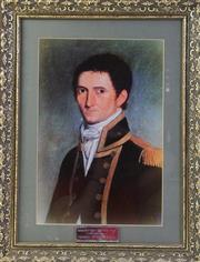 Sale 8994W - Lot 621 - A Framed Print Of Matthew Flinders (55cm x 44cm)