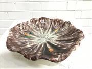 Sale 9056 - Lot 1070 - German Made Ceramic Glazed Dish On Tri-feet Marked 1902/26