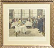 Sale 8330A - Lot 86 - William Henry Boucher (1842 - 1906) - The Plaintiff and the Defendant 45.5 x 60.5cm
