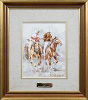 Sale 8420 - Lot 516 - Patrick Kilvington (1922 - 1990) - Fouled Off, 1986 24 x 19cm