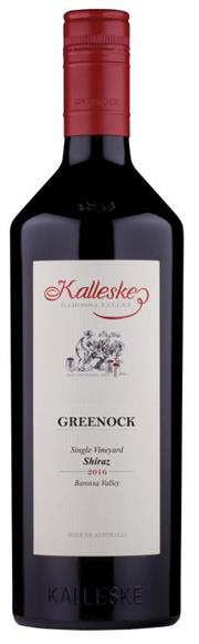Sale 8520W - Lot 1 - 12x 2016 Kalleske 'Greenock' Shiraz, Barossa Valley 'Big boned Barossa Shiraz lovers gather around! This one is for you!'  This win