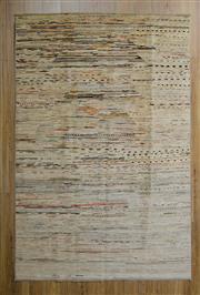 Sale 8559C - Lot 44 - Afghan Chobi Stripe 246cm x 158cm
