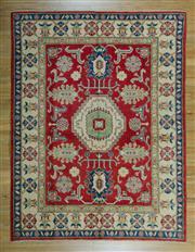 Sale 8657C - Lot 17 - Afghan Kazak 241cm x 184cm