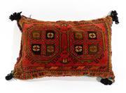 Sale 8790C - Lot 21 - A Handmade Persian Cushion In Wool, 82 x 40cm