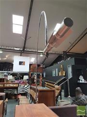 Sale 8435 - Lot 1008 - Chrome Arc Lamp
