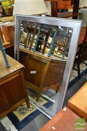 Sale 8515 - Lot 1077 - Silver Framed Mirror