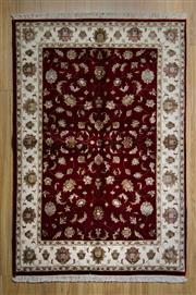 Sale 8559C - Lot 45 - Jaipur Silk & Wool 170cm x 115cm