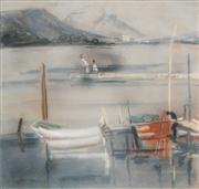 Sale 8583 - Lot 511 - Moya Dyring (1908 - 1967) - Landscape View, Toulouse 43 x 46cm