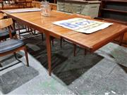 Sale 8765 - Lot 1099 - Good quality McIntosh 2 Leaf Extension Dining Table