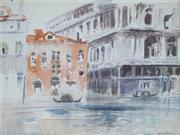 Sale 8901 - Lot 580 - Will Ashton (1881- 1963) - The Gondaliers 16 x 21 cm