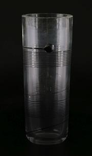 Sale 9003G - Lot 682 - Kost Boda Art Glass Vase (height 20cm)