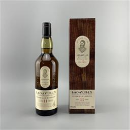 Sale 9165 - Lot 644B - Lagavulin Offerman Edition 11YO Islay Single Malt Scotch Whisky - limited release, 46% ABV, 700ml in box