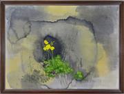 Sale 8349 - Lot 525 - Giorgos Varlamos (1922 - 2013) - Oxalis, 1973 75 x 101cm