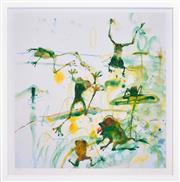 Sale 8394 - Lot 545 - John Olsen (1928 - ) - Frog Pond 86 x 82.5cm (frame size: 100 x 98cm)