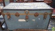 Sale 8390 - Lot 1572 - Rustic Travelers Trunk