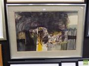 Sale 8407T - Lot 2012 - Dawn Sime (1932 - 2001) - Abstract, 1964 47 x 72cm