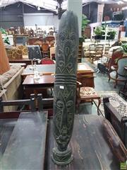 Sale 8601 - Lot 1456 - Carved Tribal Mask