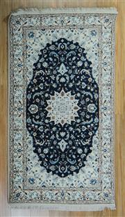 Sale 8665C - Lot 18 - Indo Nain Silk Inlaid 167cm x 95cm