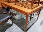 Sale 8765 - Lot 1076 - Good Danish Teak Dining Table (L: 165 W: 90 H: 72cm)