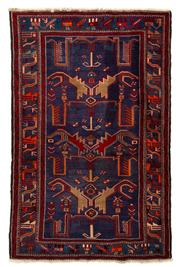 Sale 8715C - Lot 143 - A Persian Hamadan Classed As Village Rugs, Wool On Cotton Foundation, 205 x 132cm