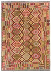 Sale 8725C - Lot 94 - An Afghan Maymana Kilim Carpet, Hand-spun Wool, 350x250cm, RRP $2,400