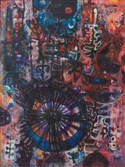 Sale 8787A - Lot 5053 - Michael Kmit (1910 - 1981) - Epicentrum, 1962 100 x 75cm