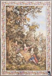 Sale 8831 - Lot 1037 - C18th Style Tapestry (130 x 80cm)