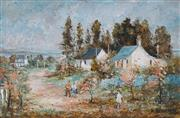 Sale 8838 - Lot 502 - Wilmotte Williams (1916 - 1992) - Old Orchard Outside Bathurst 50 x 75cm