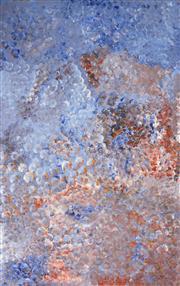 Sale 8344 - Lot 561 - Polly Ngale (c1940 - ) - Bush Plums 152 x 96cm