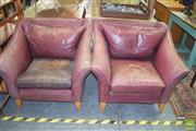 Sale 8390 - Lot 1159 - Pair of Moran Tub Chairs