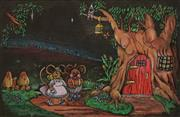 Sale 8622 - Lot 2035 - Artist Unknown - Tree House 1980, 24 x 37cm