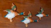 Sale 8677B - Lot 545 - Set of three graduated Beswick flying ducks