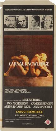 Sale 8828 - Lot 2083 - Carnal Knowledge - 76 x 34.5cm