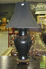 Sale 8284 - Lot 1012 - Italian Lamp w Elephant Decoration ((3469)